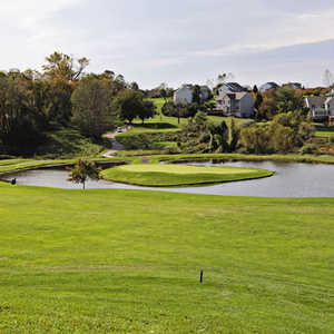 Chisel Creek GC: Island green