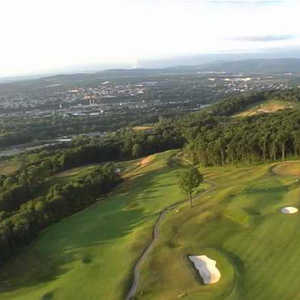 Morgan Hill GC: Aerial view