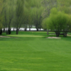 A spring view of green at Four Seasons Golf Club