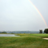 Rainbow over the course at Grand View Golf Club