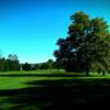 A view of a fairway at Hawk Valley Golf Club