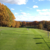 A fall view from Mount Odin Golf Course