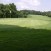 A view of a hole at Greensburg Country Club