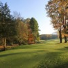 A fall view from tee box #9 at Conewango Valley Country Club