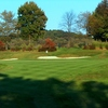 A view of hole #18 at Pittsburgh National Golf Club