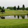A view of hole #14 and #15 at Blackwood Golf Course