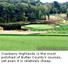 Cranberry Highlands At Butler County Golf Course